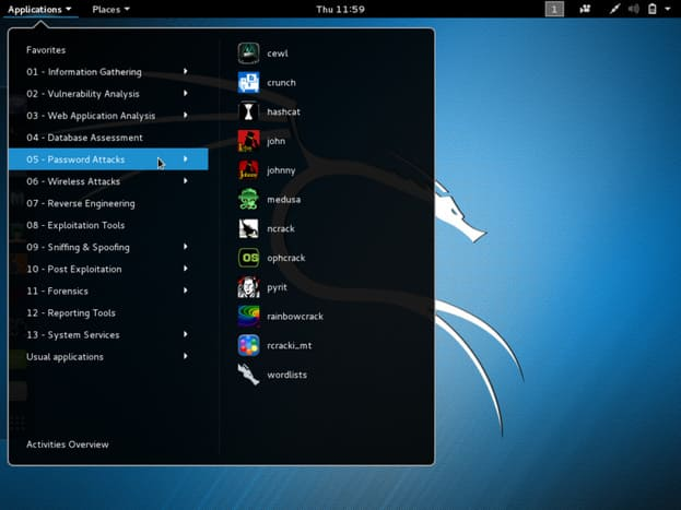 Kali Linux is a Linux operating system for Pentester