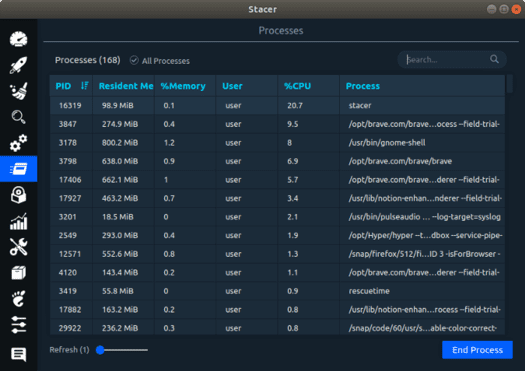3 Linux system optimization and monitoring tools 36