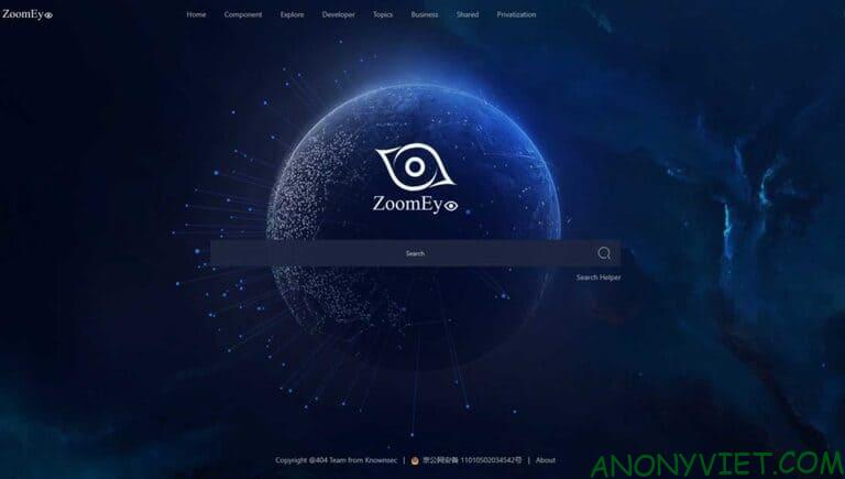 Zoomeye: Professional hacker's search engine