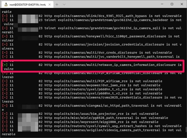 find security holes with routersploit