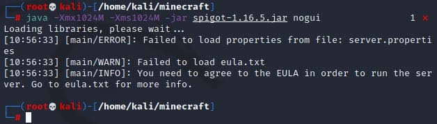 Not yet approved of Eula